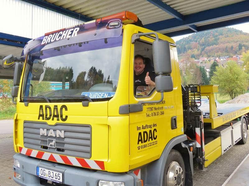 ADAC 24Stunden Service Brucher Nordrach