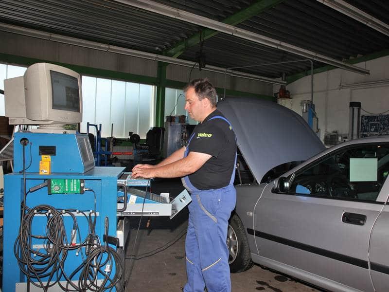 Prüfstand Werkstatt Brucher Nordrach